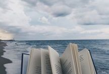 """Books and Writing / """"Books are adventure. They contain murder and mayhem and passion. They love anyone who opens them."""""""