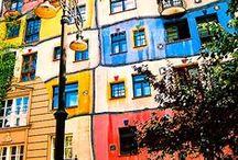 Buildings, art... etc...