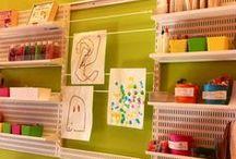 """kiddywampus art studio / catalog of art studio's """"project of the week"""""""