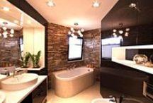 Projekty łazienek / Zbiór projektów, aranżacji oraz wizualizacji 3d wykonywanych łazienek. Nowoczesne, klasyczne łazienki.
