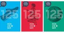 """Sport Münzinger / """"125 Jahre"""" Jubiläumskampagne / Der Münchener Fußball-Lifestyle-Store Sport Münzinger, der nach dem Umbau zur Fußball-Europameisterschaft 2012 unter dem Claim """"Fans United"""" als moderne Kultstätte für Fußball und Lifestyle wieder eröffnete, feiert in diesem Jahr seinen 125. Geburtstag. Um diesen gebührend zu begehen, sollte eine aufmerksamkeitsstarke Jubiläumskampagne entwickelt werden."""