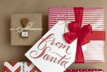 Christmas gift wrapping / #christmas #gifts #wrapping #packaging