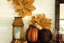 Autumn home / #autumn #fall #decorating #home #decor