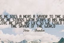Abandon / There He goes, a Hero, a Saviour to the world