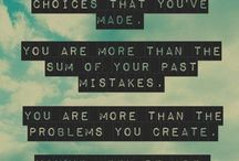 Tenth Avenue North / You are more than the choices that you've made, you are more than the sum of your past mistakes, you are more than the problems you create - you've been remade