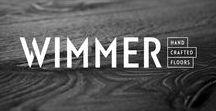 Wimmer / Neuer Markenauftritt für exklusive Holzmanufaktur / Die Söhne Günther und Thomas Wimmer führen das Familienunternehmen Wimmer als moderne Holzmanufaktur, die eine jahrzehntelange Tradition auszeichnet. Die Liebe zum Holz und die Exklusivität der Holzböden sollen nun auch im Außenauftritt sichtbar werden. Inhaltlich wollten wir im neuen Erscheinungsbild viel mehr über das Besondere der Marke sichtbar machen. Um die Erstklassigkeit des Produkts nach außen hin darzustellen, wurde auf eine hochwertige, reduzierte Gestaltung gesetzt.