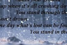 Superchick / Stand in the rain, stand your ground, stand up when it's all crashing down