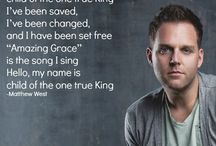 Matthew West / So lift them up to Me, all the broken pieces