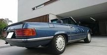 R107 / Mercedes R107のカスタムアイデア
