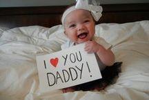 Originele vaderdag-ideetjes / Vaderdag-ideetjes voor als je kind (net als de mijne) te jong is om zelf te knutselen!