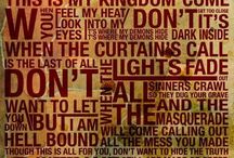 Imagine Dragons / Don't get too close, it's dark inside. It's where my demons hide