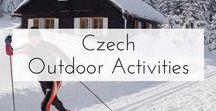 Czech Outdoor Activities / The Official Pinterest Account for Czech Tourism. Pins showcasing the wide array of outdoor activities possible in the Czech Republic.