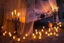 Lights, candles, Ambience / by Sherry Hildebrand