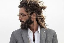 some like it hot. / it's all about men (fashion and beards)