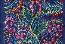 crochet, tejidos y bordados!