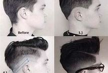 Hairstyles for Gents / This board has a bunch of hairstyles and beardstyles for guys that I think look pretty nice.  I also have some grooming tips and tutorials on here.  / by .:☾rys†al:.