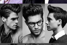 Haircut men / Como eu e o meu namorado andamos na tentativa de ele finalmente ter um corte de cabelo maduro e que o define, aqui estão algumas ideias para quem esteja na mesma situação e para ti querido <3