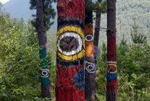 Bosques de Oma / Agustín Ibarrola's Painted Forest
