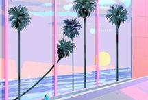 80's♡̷△☆ / Miami beach