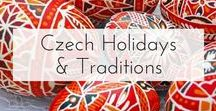 Czech Holidays & Traditions - Christmas, Easter, New Years, and More / The Official Pinterest Account for Czech Tourism. Pins about Czech holiday traditions like Easter, Christmas, Valentine's Day, and More!