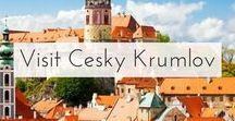 Visit Cesky Krumlov / The Official Pinterest Account of Czech Tourism - Pins about stunning Cesky Krumlov in the Czech Republic.