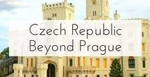Czech Republic Beyond Prague / All of the amazing things to see and do in the Czech Republic beyond of Prague!