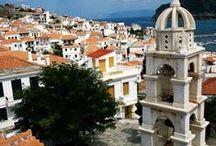 skopelos island greece / breath taking beauty