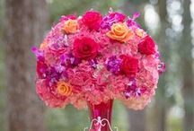 Happy colors!! / Bright and vibrantly colored weddings
