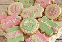 Mint & Pink Baby Shower / Baby Shower Ideas