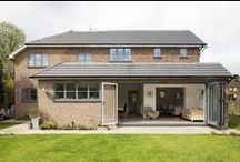Rear extension - Reigate, Surrey / Side and rear ground floor extension with front porch addition