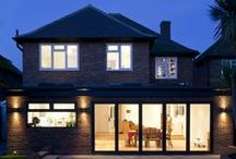 Rear Extension - Claygate, Surrey - / Flat roof rear extension to detached property in Surrey, England.