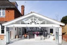 Pitched roof Rear Extension - Ashtead / Large rear / side extension in keeping with the traditional qualities of the existing property and to provide modern open plan living