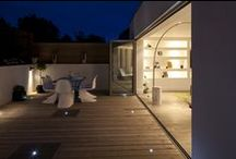Landscaping / patio / garden / A collection of designed external spaces for residential properties / homes throughout Southeast england by three eleven design | decking | patio | terrace | balcony | garden |