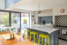 Kitchens / A variety of contemporary / modern / traditional style kitchens across Southeast England / London - designed by three eleven design, Brighton Architects