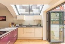 Side extension - Lewes / A modern kitchen extension to a residential terrace property