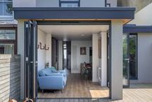 Modern Rear extension - Hove, Sussex / A contemporary rear flat roof extension & internal renovation to residential terrace property
