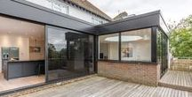 Stunning flat roof extension - Brighton / A superb contemporary flat roof extension to a large detached home in Brighton, UK
