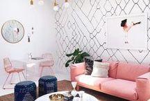 Wohnzimmer / Living Room / Zuhause, Wohnen und Leben, Wohnzimmer, Einrichten, Deko, Minimalism, Skandinavisch, Pastell, Weißes Wohnen, minimalistisches Interior, Living Room, decor, home, skandinavia, skandi, soft living, pastels, eames chair, string, white living, minimalistic