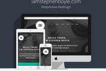 Web Design Inspiration / Interesting and useful web layouts, design, and handy HTML/CSS tips