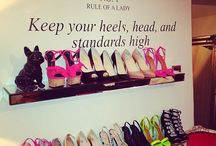 """""""I would hate for someone to look at my shoes and say, Oh My God! That looks so comfortable!"""" / by Kelly Keith"""