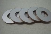 Piezoelectric Ceramics / Piezoelectric Ceramics (piezoceramics), such as Piezoelectric Ceramic Ring, Piezoelectric Ceramic Disc, Piezoelectric Ceramic Tube, Piezoelectric Ceramic Ball/Hemisphere, Piezoelectric Ceramic Cylinder and Piezoelectric Ceramic Square/Rectangular.