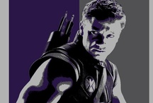 Hawkeye and other superheroes / by Miklin