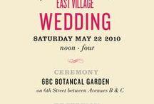 Graphic Design - Wedding Invites