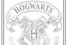 Harry Potter / I solemnly swear I am up to no good.