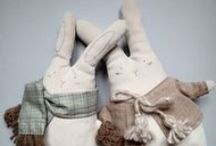 Handmade cuddlers from Italy. Plushie charm. / My new line of handmade cuddlers!