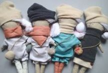 Handmade kitten rag dolls from Italy. / Let me introduce you to my new friends - kitten rag dolls!