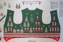 """American Xmas - Cut & Sew Panels / """"cut&sew""""-Panels für Weihnachtsdeko und -bekleidung"""