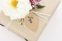 Gift wrapping ideas / Ideas to wrap gifts