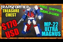 Discount Transformer Figures from Transformer Treasure Chest / Amazing discount deals on rare and Japan exclusive Transformer figures !