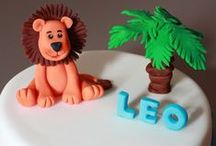 Boys Birthday Cake Inspiration / Cakes for little boys that come in all shapes and sizes.